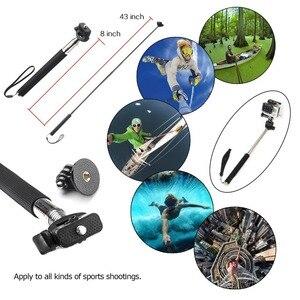 Image 2 - Monopod Göğüs kafa bandı Yüzer Bobber Dağı Aksesuarları kiti Sony mini kamera Eylem Kamera HDR AS20 AS30V AS15V AS200V AS300