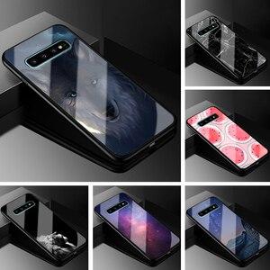 Funda de plástico para Samsung S10 Plus, carcasa negra de TPU para teléfono móvil Samsung Galaxy S10 Plus S10e S10 Lite S 10