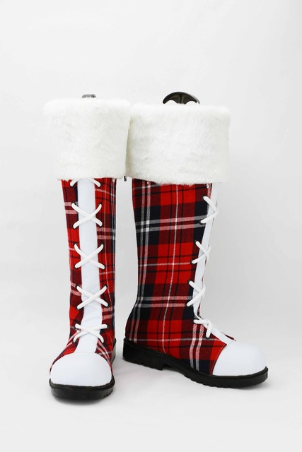Lovelive! Love Live Christmas Cosplay Costume Shoes Cosplay Shoes Boots 2