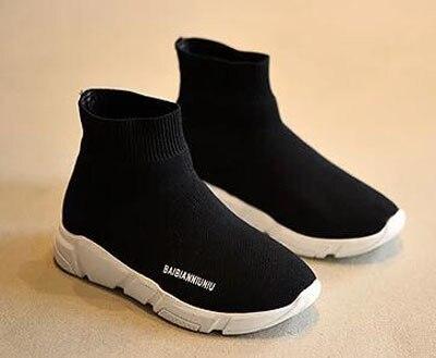 Bambini stivaletti scarpe da ginnastica flyknit tessuto sport shoes bambini  articoli da tennis shoes slip on. Posiziona il mouse sopra per ingrandire 8021542b21c