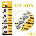 2016 NOVO Para O relógio de 5 Pcs 3 V Células de Lítio Coin Botão Bateria CR1616 DL1616 ECR1616 BR1616 5021LC EE6221 57