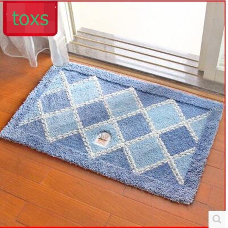 Pedal pad doormat mats doormat mats mat entrance mats waste-absorbing slip-resistant pad carpet 50cm*80cm per piece