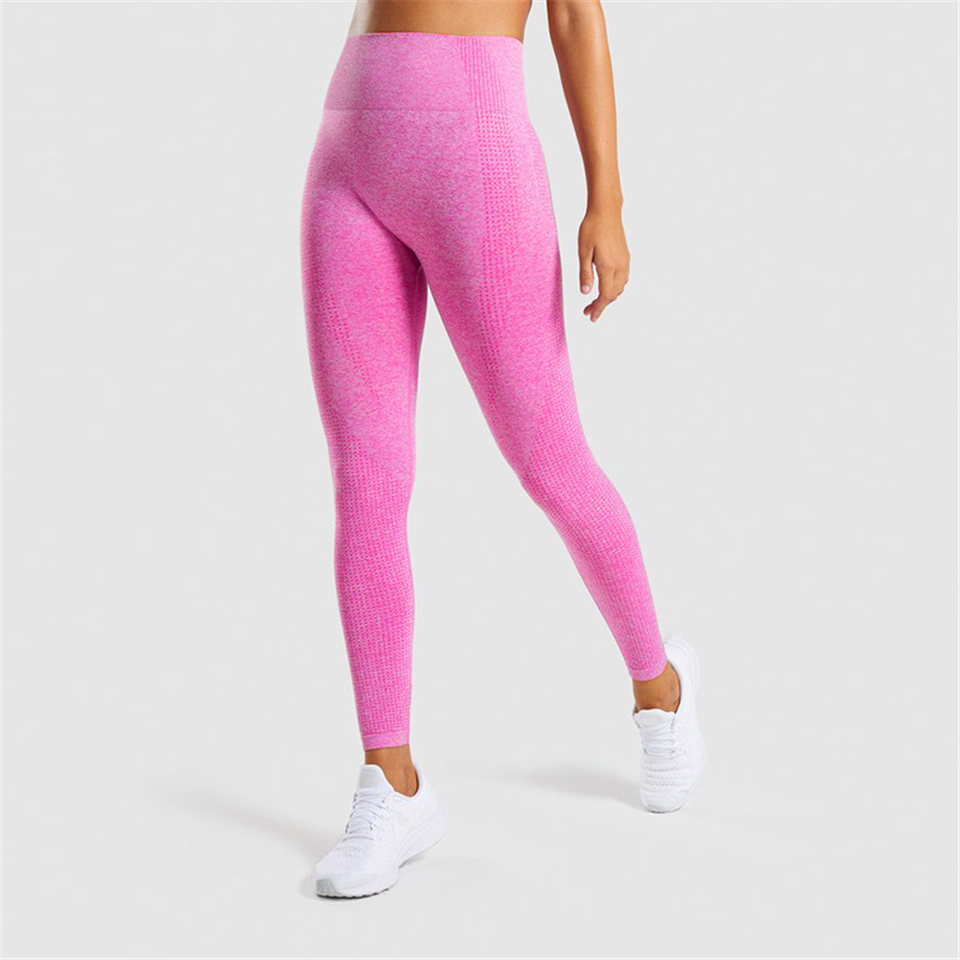 Ariel Sarah High Waist Yoga Pants Seamless Leggings Push Up Leggings Sport Women Fitness Running Energy Seamless Leggings Gym(China)