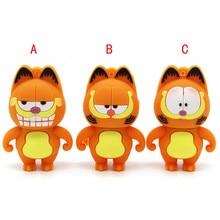Pendrive 4GB Model Usb-Flash-Drive U-Disk Usb2.0 16GB 8GB Cute Cartoon Garfield 32GB