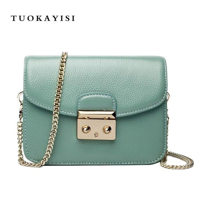 2018 новая мини-цепочка простая маленькая квадратная сумка 100% натуральная кожа сумка через плечо женская яловая мини-кошелек сумка для телеф...