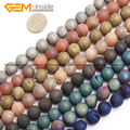 Druzy Drusy Metallic Coated Agate Beads For Jewelry Making 10mm 15inches DIY Jewellery FreeShipping Wholesale Gem-inside