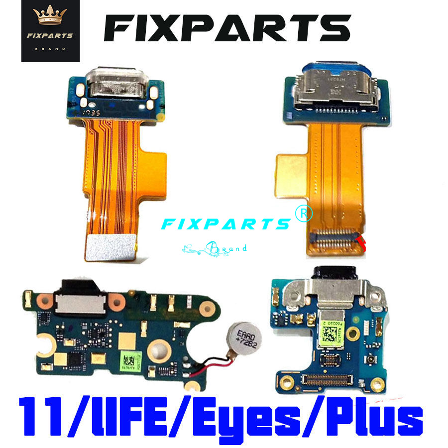 For HTC U11 USB Charging Port Life/Eyes Charger Dock Plug Connector Board Plus Flex Cable
