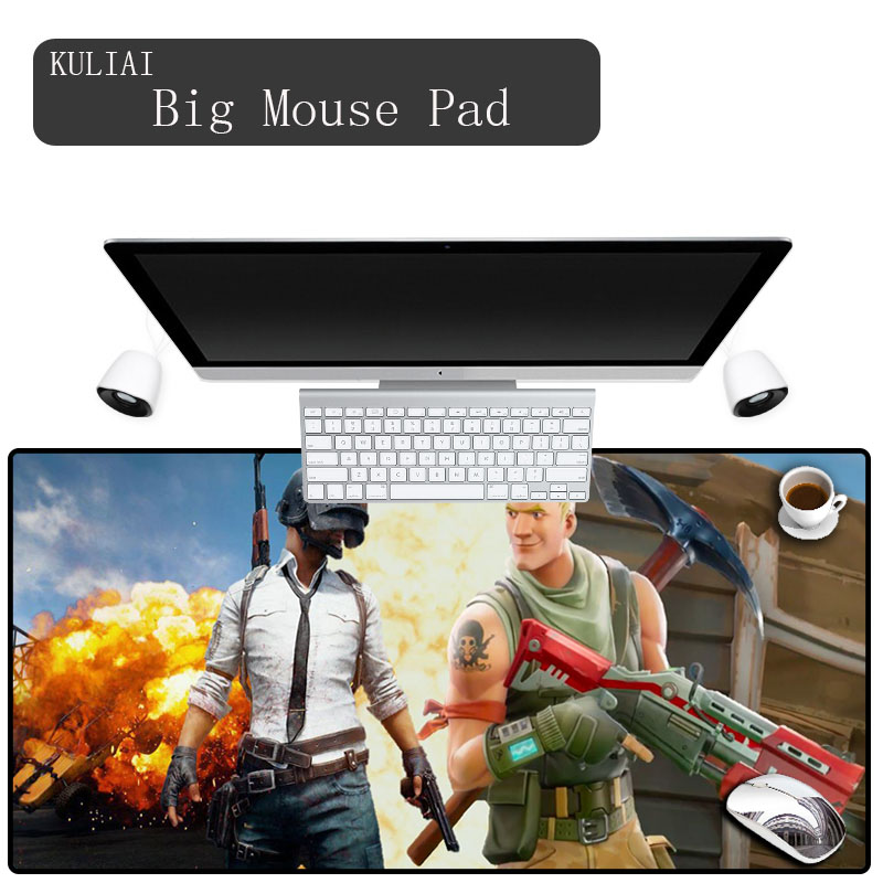 KULIAI 2018 Style Game Player Mouse Pad Bluetooth Keyboard Laptop Computer Wireless Mouse Optical Electronic Mousepad Speed Mat
