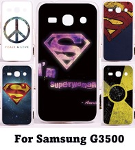 Custom Phone Cover For Samsung Galaxy Core Plus G3500 G3508 Cases Superman America Captain Plastic and Silicon Phone Protective