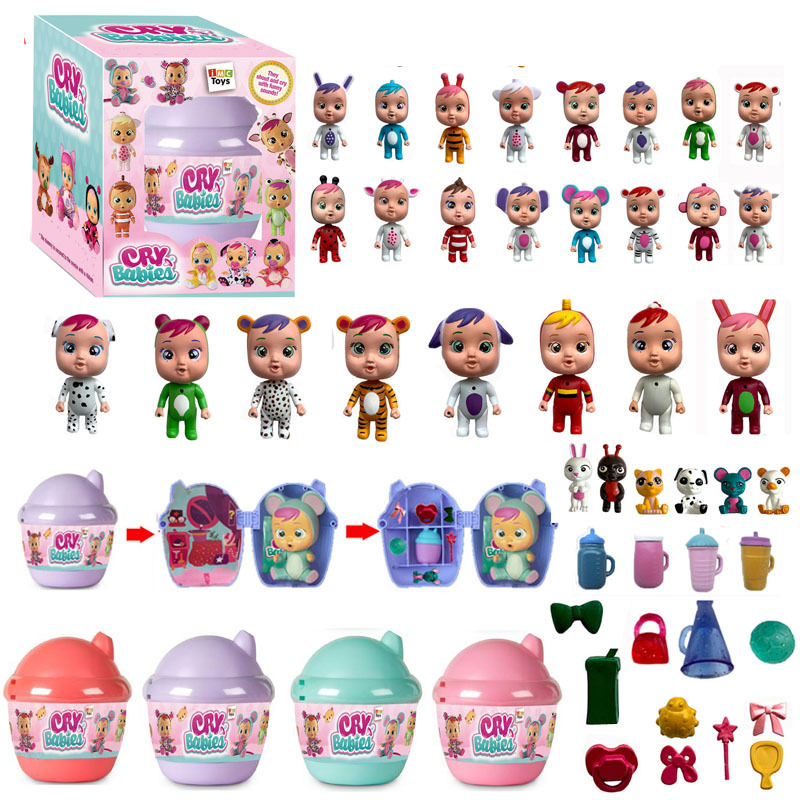 NEW Cry Baby Dolls Surprise Ball LOL  Baby  Boy Girl Toys Children Doll It Will Shed Tears Birthday Gift For Children T9