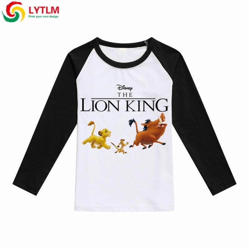 LYTLM Lion King Shirt Korean Fashion Clothing 2019 Autumn
