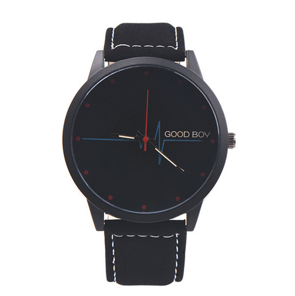 2017 Woman Casual Analog Quartz Watch Simple Design Wrist Watch Black& White Relogio Masculino Feminino Gift Feb16