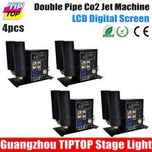 Freeshipping 4 ШТ. Новый Цифровой Китай CO2 Струи СО2 Струи Blaster, СО2 Струя Машина, СО2 Кэннон 200 Вт Высокий Выход Переключается Контроль