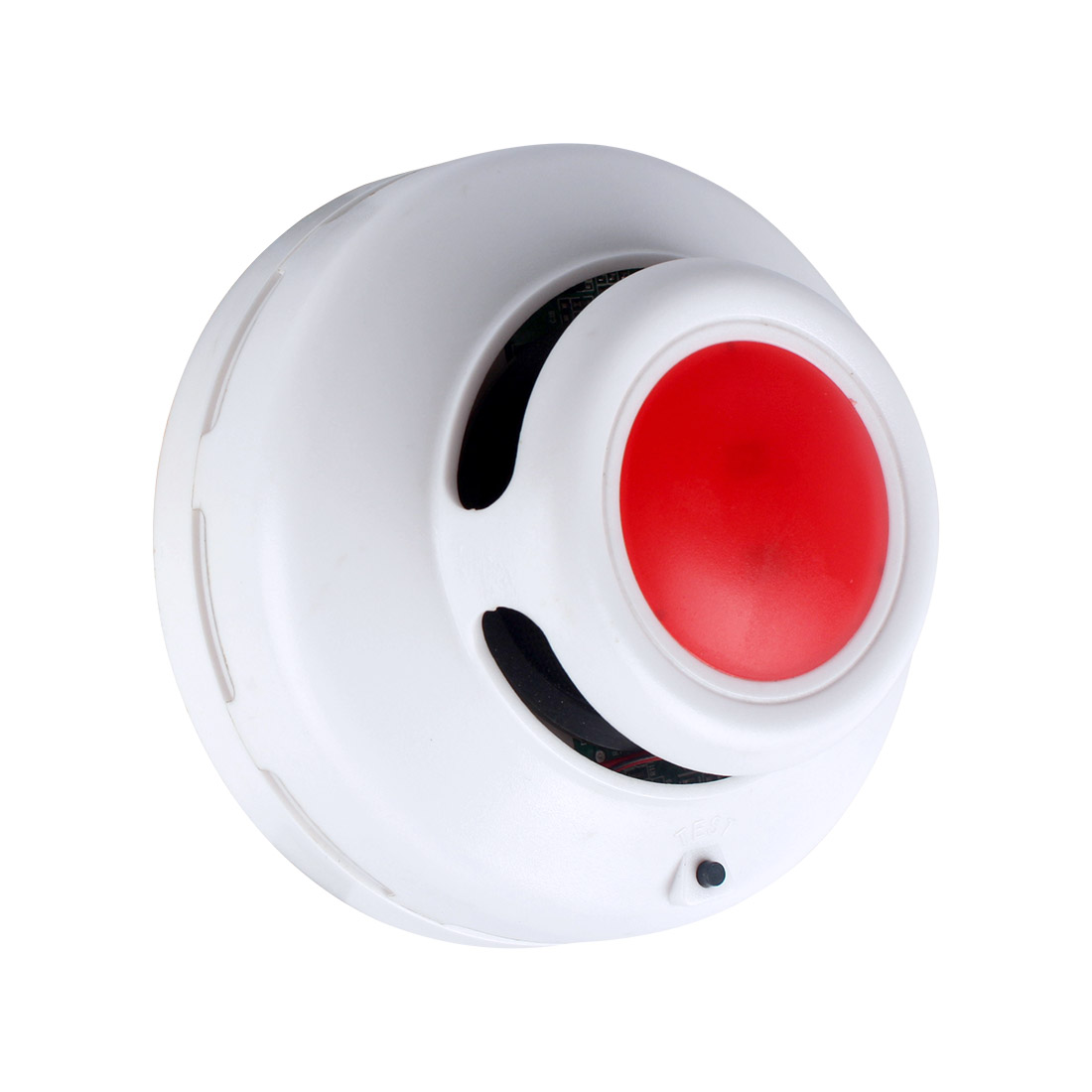 Indoor Home Safety Garden High Sensitive Standalone Photoelectric Smoke Detector Fire Alarm Sensor For Security MCU Technology