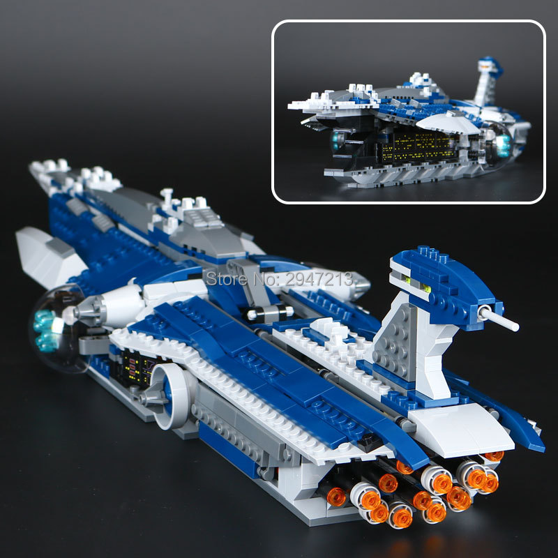 hot compatible LegoINGlys Star Wars series Building blocks Limited Edition Battleship fangs with figures brick Toys for children fangs for nothing