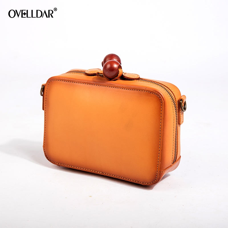 OVELLDAR Brand Fashion Vintage Genuine Leather Bag Female Small Women Handbags Bags For Women 2018 Shoulder Crossbody Bag women shoulder bags leather handbags shell crossbody bag brand design small single messenger bolsa tote sweet fashion style