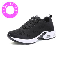 HOT New Summer Simple Comfortable Fashion Breathable Fly Weaving Womens Solid Color Casual Shoes Flying Fabric Uppers