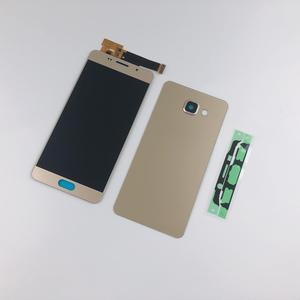 Image 3 - Pour Samsung Galaxy A5 2016 A510 A510F A510FD A510M A510Y LCD écran tactile numériseur assemblée + boîtier batterie couverture arrière