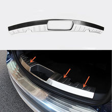 1pc Car Trunk Stainless Inner Rear Guard Plate B Style for Ford Explorer 2016-2018