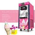 Трехцветная Коммерческая настольная мягкая машина для мороженого 220 В/100 в вертикальная машина для приготовления мороженого умная подсласт...