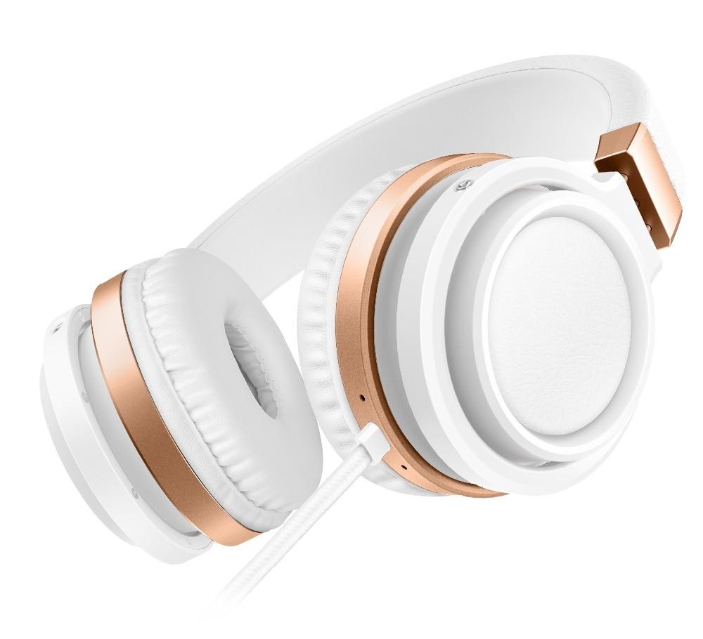 Sound Intone C9 Big Headphones with HD MIC Stereo Bass Headphone HIFI Music Sound Earphones Gaming Headset for Girls Cellphones