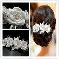 2015 New Elegant Girl Soft Pearl Short Bride Hair Accessory Wedding Veil Bridal Veil Wedding Accessories Brides Hair Decoration