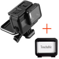 130 Feet Waterproof Housing Case Touch Screen Backdoor Cover For Gopro Hero 5 Black Action Camera