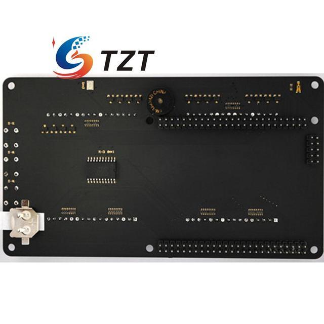 Reloj Visualizador Shield Sensor Óptico TEMT6000 ADMP421 Micrófono Mojo V3 FPGA