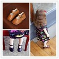 2017 hot sale baby girls leather shoes top quality REAL leather shoes leather princess shoes for girls 1-3 years item:xhm-566