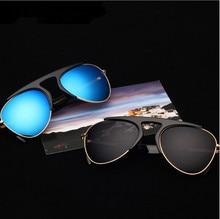 4 color 2015 New Brand Designer Men Women trendy Velvet Sunglasses Fashion Unisex Eyewear Vintage glasses Free shipping 530
