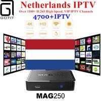 GOTiT Mag250 Nertherlands Streaming IPTV Box Pro Hebrew Nordi Europe USA Exyu Latino Spain German Dutch