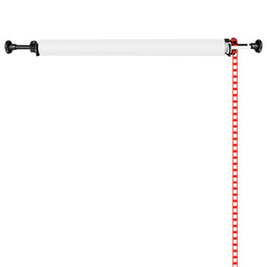 Neewer Photography Single Roller Wall Mounting Manual Background Support System Photo Studio Equipment Heavy Duty