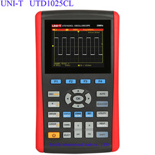 Big sale UNI-T UTD1025CL Handheld Digital Storage Oscilloscopes 3.5″LCD Digital display Fully Auto Scale Oscilloscopes With  multimeter