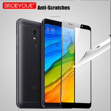 BROEYOUE Case For Xiaomi MI 5S 5X A1 6 Screen Protector HD Clear Full Coverage Automatic Adsorption Redmi Note 4X 5A 4