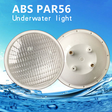 цены на RGB Colorful LED Light DC12V 18W 24W IP68 Waterproof Pool Light Par56 Underwater Light White Warm White Light  в интернет-магазинах
