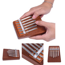 6 Keys Rosewood Finger Thumb Piano Musical Instrument Kalimba Mbira Likembe Sanza Thumb Piano Pine Enjoy Life From Little Fun