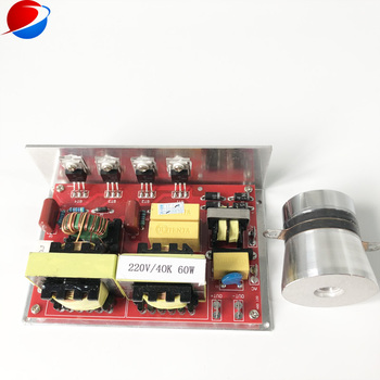ultrasonic generator circuit 40K 60W with 1 pcs vibrator for cleaning and washing