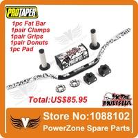 Pro Taper Fat Bar 1 1/8 Metal Mulisha Pack Dirt Bike MotorCross Fat Bar MX Aluminum Racing Handlebar 810mm FREESHIPPING