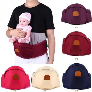 adjustable ergonomic baby carrier belt backpack and sling hold hip seat belt