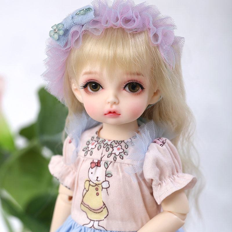 OUENEIFS Peanut BJD YOSD Doll 1 6 Girl Body Toys for Children Friends Gift