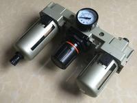 3 4 Ports AC4000 06 Series Air Source Treatment Unit Filter Regulator AF AR AL 4000