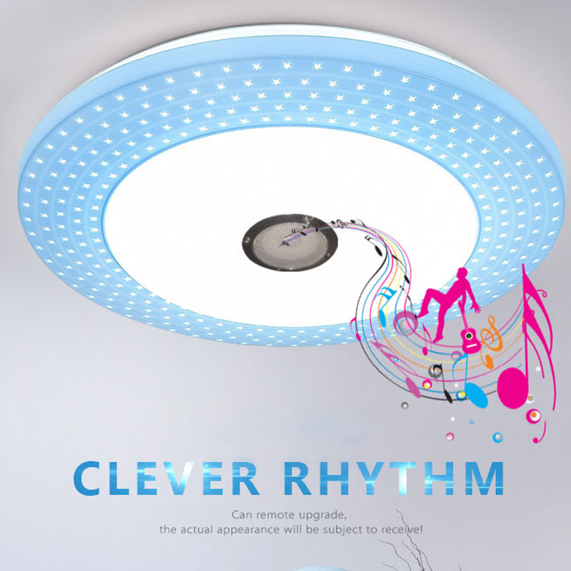 Modern LED Ceiling Light RGB Dimmable 36W APP Remote Bluetooth Music Light Living Room Baby Bedroom Ceiling Light AC85-265V king double kgn a3t 3 zirconia ceramic peeling knife w sheath green white
