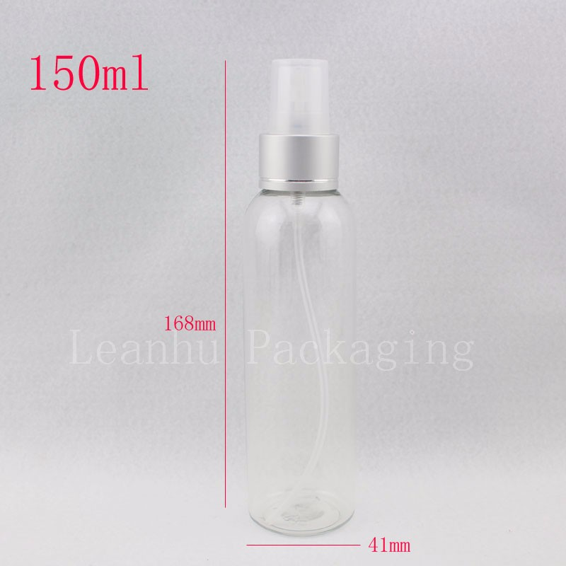 150ml-transparent-bottle-with-silver-sprayers