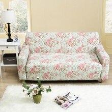 Rosa Blumen Drucken Universal Sofa Abdeckung Fr 4 Jahreszeiten Stretch Ecke Wohnzimmer Multi Grsse Anti Sl