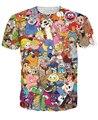 Totalmente 80 s t-shirt Jem e os holograma ursinhos carinhosos ThunderCats Alvin os esquilos Character T camisa dos desenhos animados T para mulheres homens