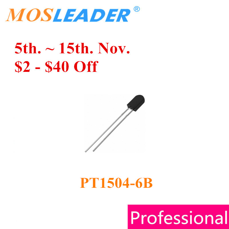 цена на Mosleader DIP PT1504-6B 1000PCS PT1504 5MM Phototransistor High quality