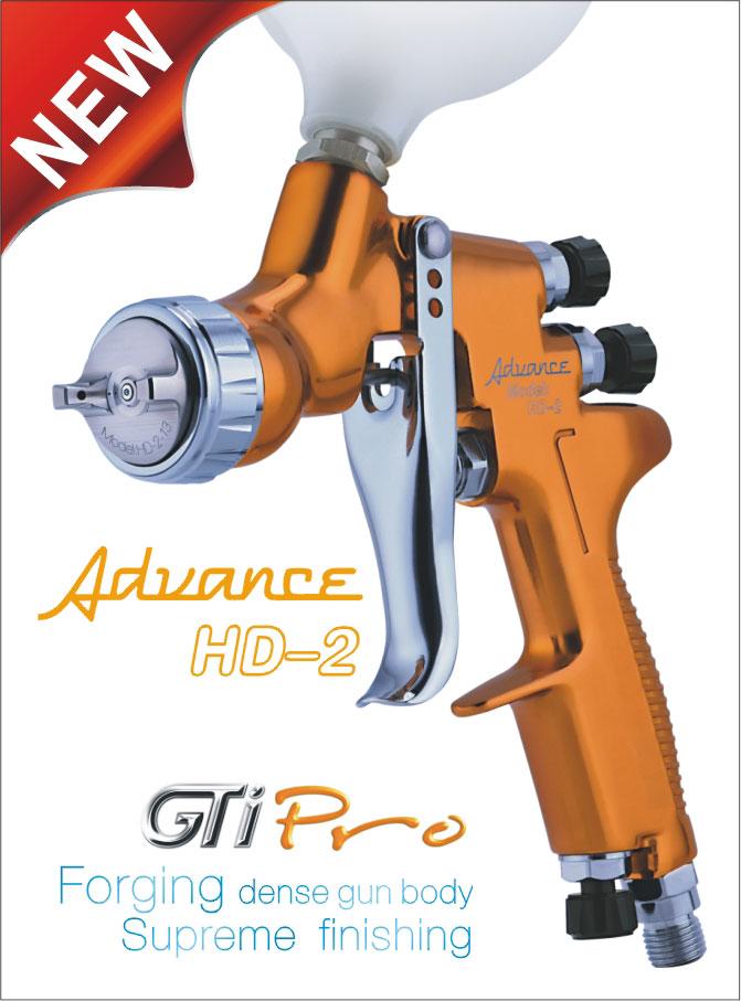 GTI PRO HD-2 spray gun devilbiss gti pro base купить детали