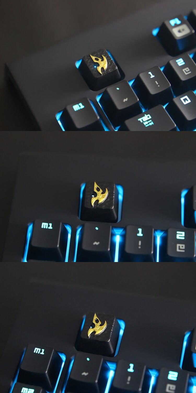 para jogo teclado mecânico, high-end único DIY para C