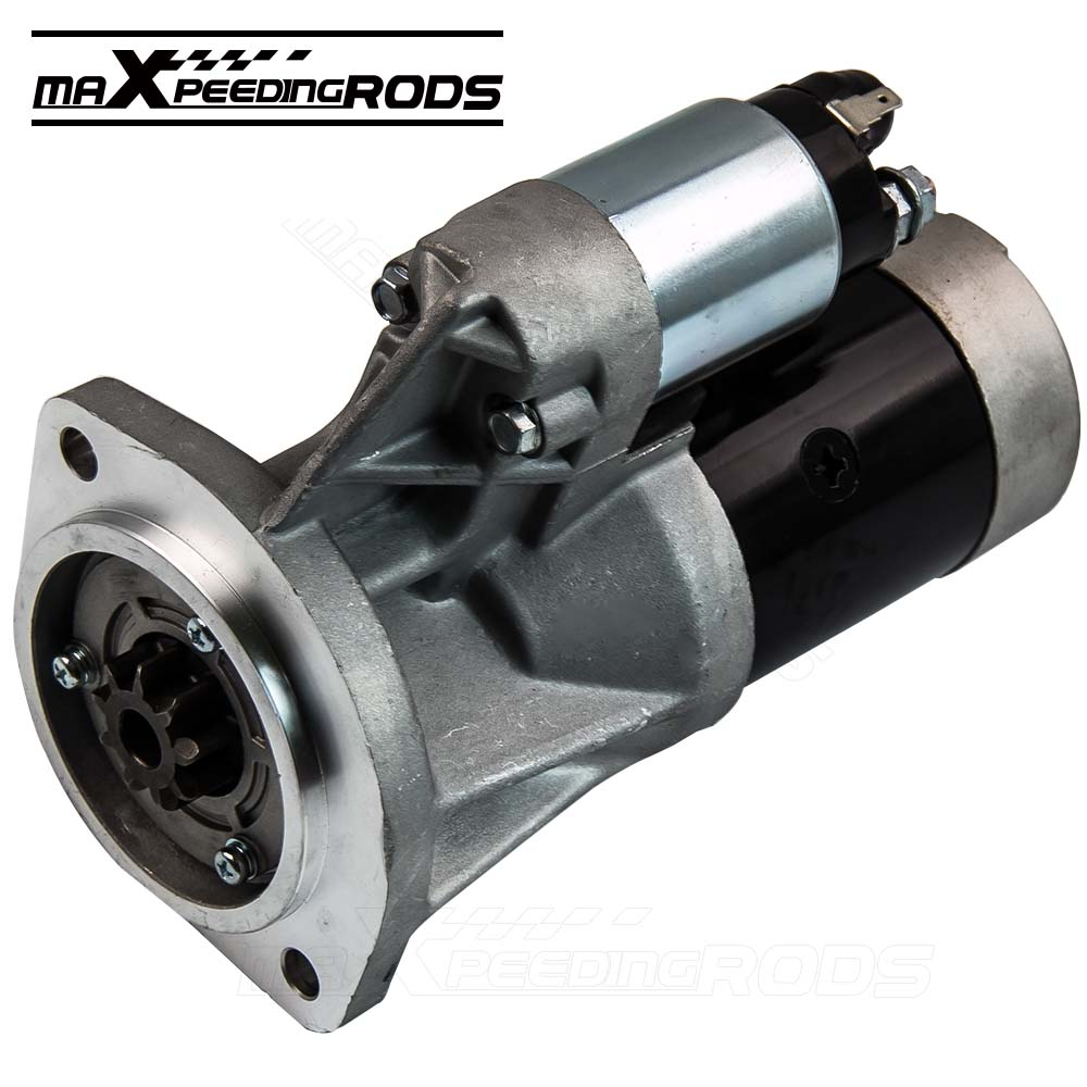 Starter Motor for Nissan Navara Terrano Urvan D21 TD24 E24 ZD30 Diesel 23300 2330080G01 2330010T01 CAC новый силовой рулевой насос 49110 vw000 для nissan urvan e25 urvan 2 4 lts