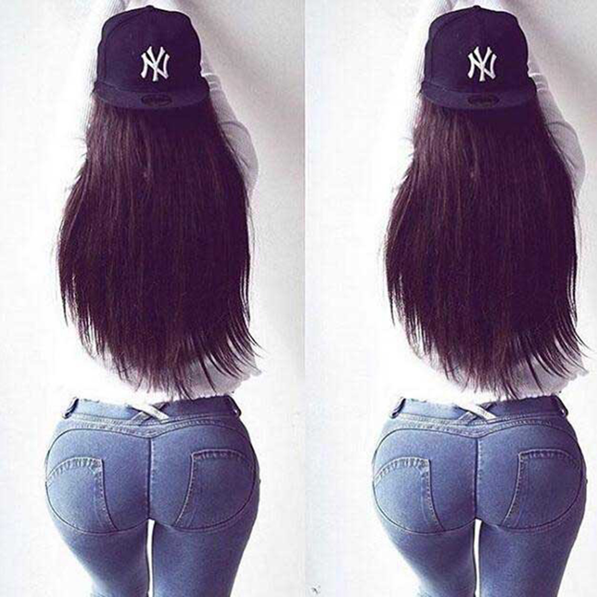 Fashion Women Solid Push Up Blue Sexy Denim Jeans Full Hip Skinny High Waist Stretch Jeans For Female Fashion Slim Pencil Pants 5